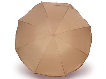 Regenschirm UV 50+ beige Heitmann Sonnenschirm
