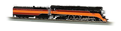 Bachmann Industries GS4 4-8-4 Locomotive - DCC Sound Value Equipped - Southern Pacific Daylight #4449 - RAILFAN Version (Southern Pacific Lines) - HO-Scale Train ()