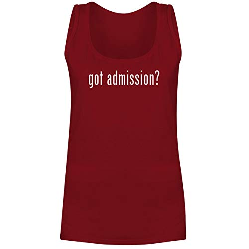 got Admission? - A Soft & Comfortable Women's Tank Top, Red, Small
