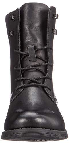 Bianco Boot Laced Noir black Femme Bottes Clean 100 Up Hautes wUUCqTrx