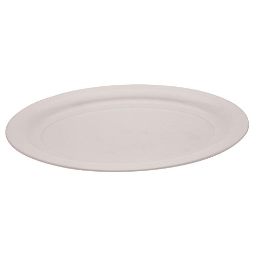 Creative Converting Form and Function Large Oval Plastic Tray, 11 (Large Oval Serving Tray)