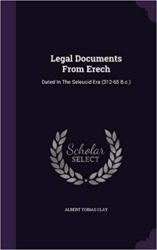 Buy Legal Documents From Erech Dated In The Seleucid Era - Buy legal documents