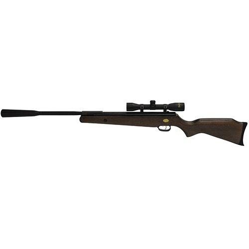 Beeman (1153QT) Quiet Tek .177 Caliber, 13-Inches Barrel, Single Shot Air Rifle, Hardwood Stock with 4x32mm Scope