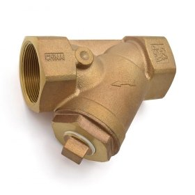 2'' Threaded Y-Strainer, Cast Bronze, with Plug by Wright Valves
