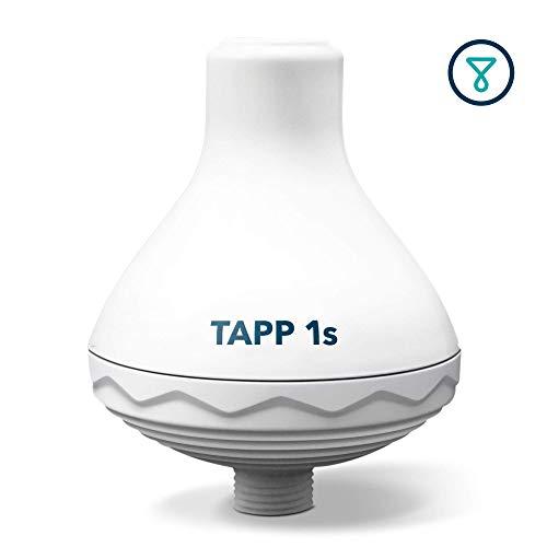 TAPP Water TAPP 1s - Filtro de Agua para Ducha (Elimina la Cal, el Cloro y los Metales Pesados)