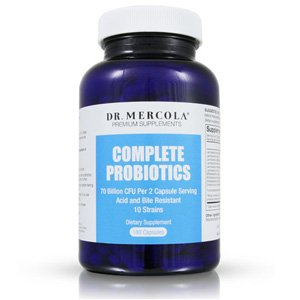 Dr. Mercola Complete Probiotics with 70 Billion CFU/g - 180 caps