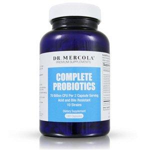 Dr. Mercola Complete Probiotics with 70 Billion CFU/g - 180 caps
