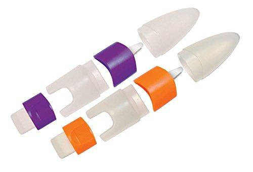 (Baumgartens Torpedo with Eraser Pencil Sharpener Single Hole Assorted Colors (Pack of 12))