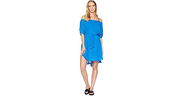 02a4048033 Echo Design Women's Seaside Caftan Swim Cover-up at Amazon Women's Clothing  store: