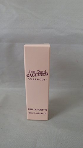 - Jean Paul Gaultier Classique Mini Travel EDT 0.02 Fl Oz