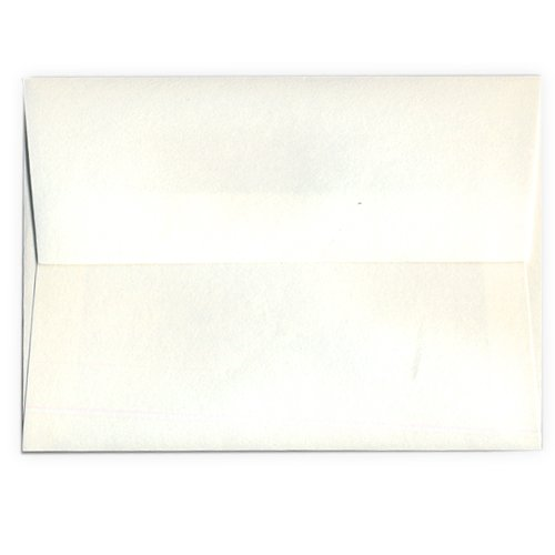 We R Memory Keepers Letterpress Envelopes, A7-Size, 25-Pack, Cream