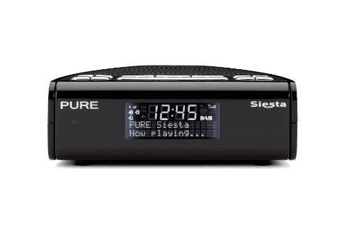 PURE Siesta, DAB/FM Clock Radio - Black