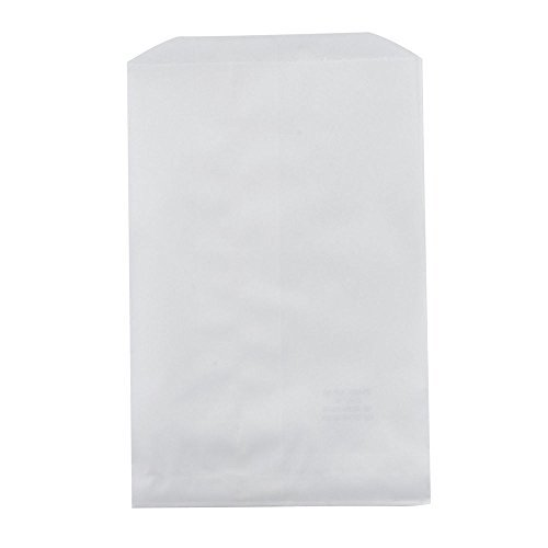 My Craft Supplies 200 White Kraft Paper Bags, 4 X 6 Inches]()