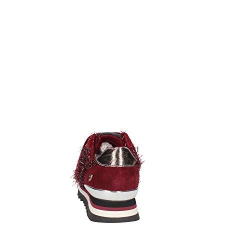 Sneakers Gioseppo Donna Bordeaux Lurex 46534 Scarpe Basse Strappo EqqTSCz