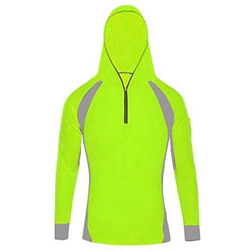(LANBAOSI Men's Anti-UV Sunscreen Protection Skin Coat Outdoor Quick Drying Fishing Shirts)