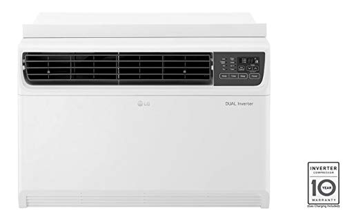 LG 1.5 Ton 3 Star Inverter Window AC (Copper, JW-Q18WUXA, white)