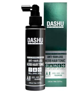 Amazon Com Dashu Daily Anti Hair Loss Herb Hair Tonic 5 07fl Oz Hair Loss Prevention Treatment Beauty