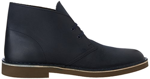 Bushacre Uomo Navy Sabbia Leather Clarks 2 nbsp;Camoscio fT0qw