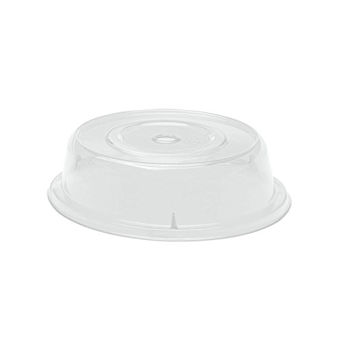 """UPC 099511318438, Cambro 900CW152 Camwear Camcover, 9-1/8"""" Diameter, Polycarbonate, Clear, NSF, 12-units"""
