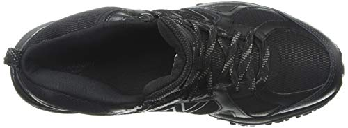 New Balance Men's 481 V3 Cushioning Trail Running Shoe Black/Magnet 1.5 D US by New Balance (Image #8)