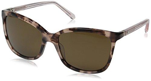 Kate Spade Women's Kasie/P/S Polarized Square Sunglasses, Havana Rose/Brown, 55 - Sunglasses 6pm