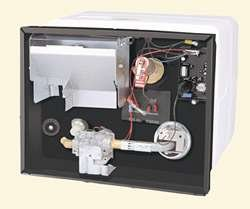 NEW RV ATWOOD 6 GALLON GAS/ELECTRIC GC6AA-10E WATER HEATER DSI WITHOUT DOOR