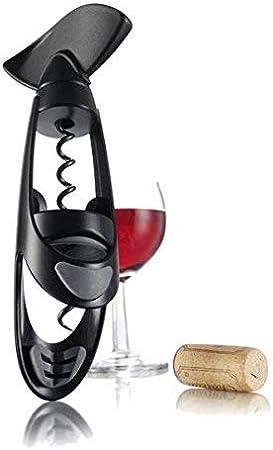 Vacu Vin Negro 68814606 Sacacorchos Twister, Color