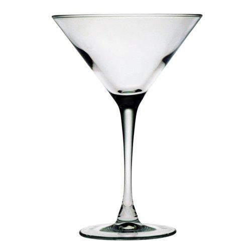 Susquehanna Glass Martini Glasses, Set of 4, 7.5 Ounces by Susquehanna Glass
