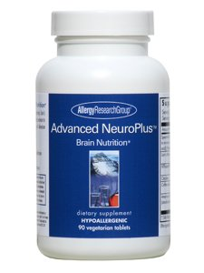 Allergy Research Allergy Fiber Supplement - Allergy Research Group - Advanced NeuroPlus 90 Veggie Tablets