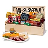 Dan the Sausageman's Favorite Gourmet Gift Basket -Featuring Dan's Original Sausage, Seabear Smoked Salmon, 100% Wisconsin Cheeses, and Dan's Sweet Hot Mustard