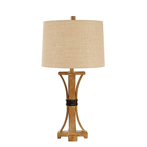 (Silverwood CPLT1383 Liam Banded Table Lamp 29