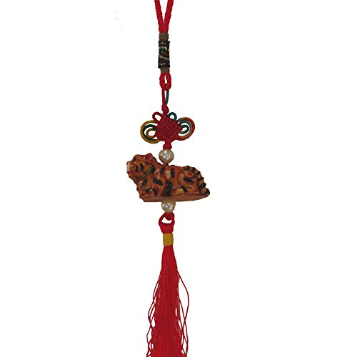 (Feng Shui Import Tiger Charm, Lucky Charm, Chinese Tiger Charm for Chinese Lunar Year of Pig)