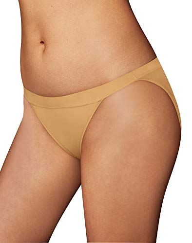 Maidenform One Fabulous Fit String Bikini, 6/M, Body Beige