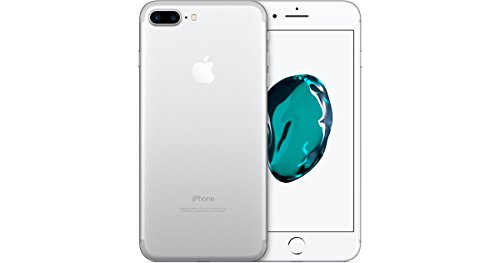 Apple iPhone 7 Plus Unlocked Phone 128 GB - International Version (Silver)