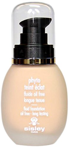 Sisley Oil Free Fluid Foundation, 2 Soft Beige, Phyto, 1 Ounce by Sisley