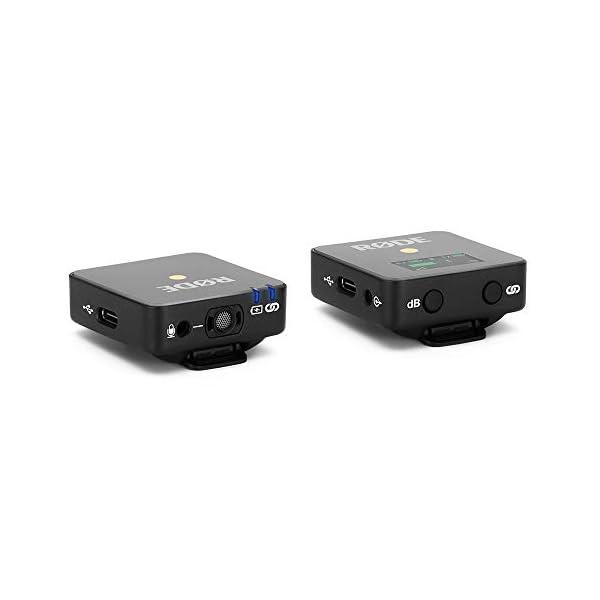 Rode microphones Wireless GO - Sistema microfono wireless compatto, 2.4GHz, Fino a 70 m di raggio, Nero 3 spesavip