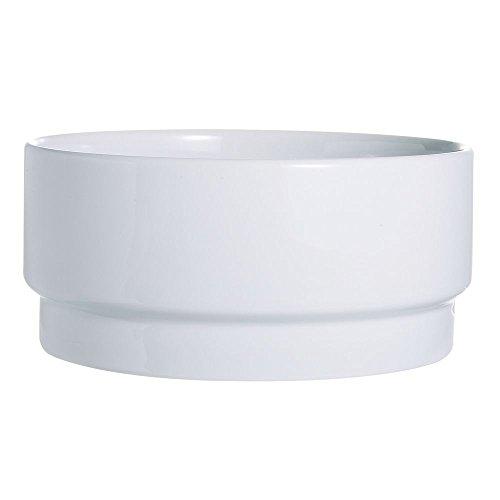 (Arcoroc R0852 Candour White 2.25 Oz. Stackable Bowl - 24 / CS)