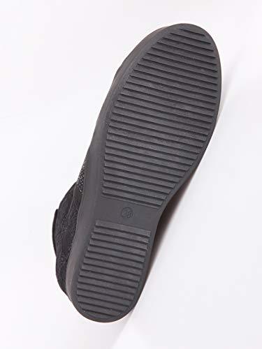 Ecopelle Stringate Con Nero Pizzo E Sneakers Strass Donna BqwCTT