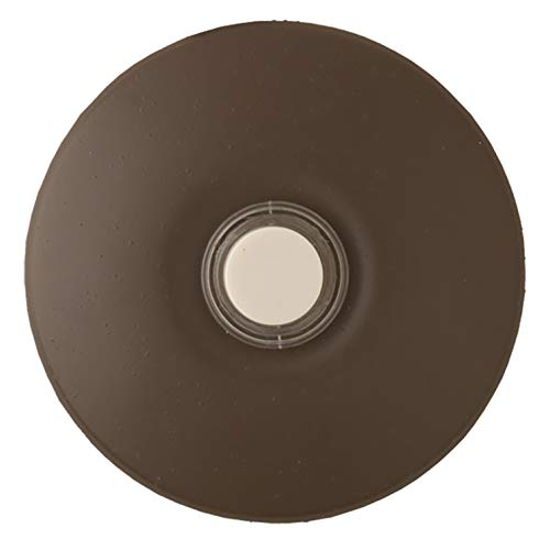 (NICOR Lighting Prime Chime Stucco Button, Architectural Bronze (ECSBARCHBZ))