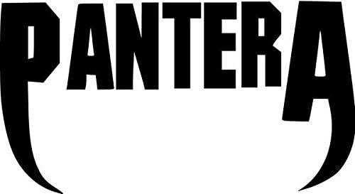 "8/"" Pantera Die-Cut Vinyl Decal Sticker      19 Colors Available"