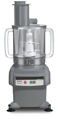 Waring Commercial FP2200 Batch Bowl and Continuous-Feed Food Processor, ()