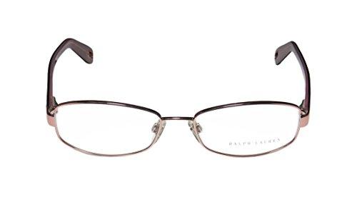 Ralph Lauren 5036 MensWomens Designer Full-rim EyeglassesSpectacles (52-16-135 Rose  Tortoise)