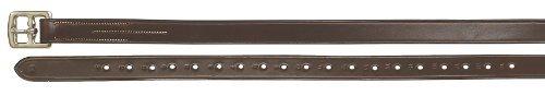 Ovation Classic Stirrup Leathers 54 x 7/8 Dk Brown