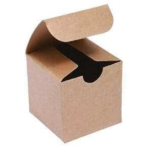 2in. X 2in. X 2in. Kraft Gift Boxes - pack of 10