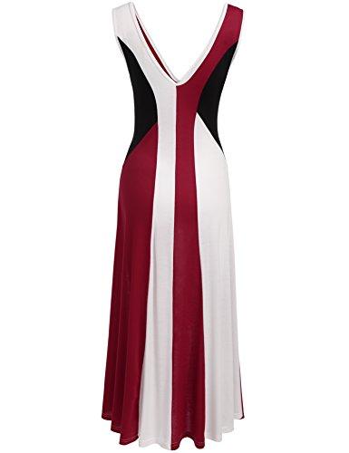 ANGVNS Sleeveless Empire Formal Dresses