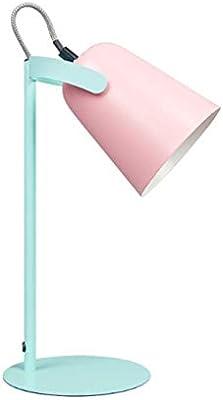 Nosterappou Lámpara de mesa macaron fresca, dirección de fuente de ...