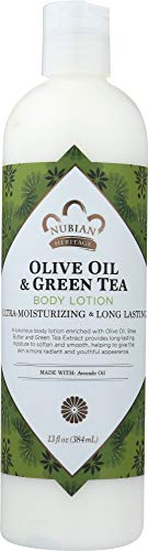 Nubian Heritage Olive Oil and Green Tea Body Lotion (1 Item only)