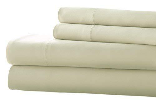 Juego de sábanas bambú Blanco