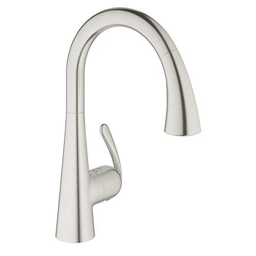 LadyLux3 Single Handle Pull Down Kitchen Faucet