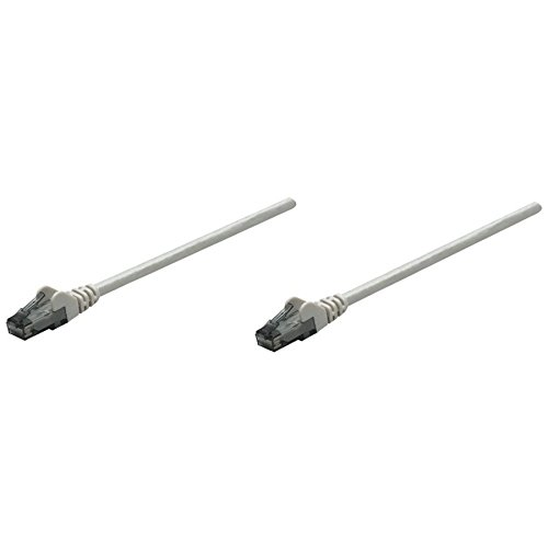 Intellinet Network Solutions Cat6 RJ-45 Male/RJ-45 Male UTP Network Patch Cable, 5-Feet (340380)